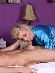 Annika Albrite sucking hard cock
