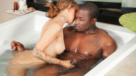 Pressley Carter at nuru massage