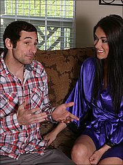 Victoria Love negotiating the price with the client
